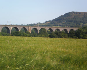 Viaduct and Hills